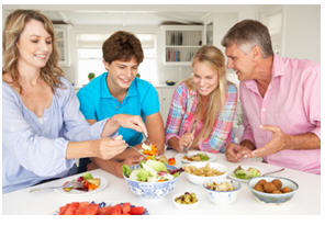 family meals and mental health